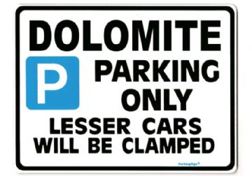 DOLOMITE Large Metal_Sign For TRIUMPH 1500 sprint 1850